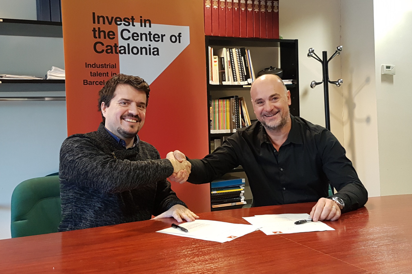 Collaboration Agreement Between The Business Investment Attraction Office Of The Conca Of Òdena And TIC Anoia