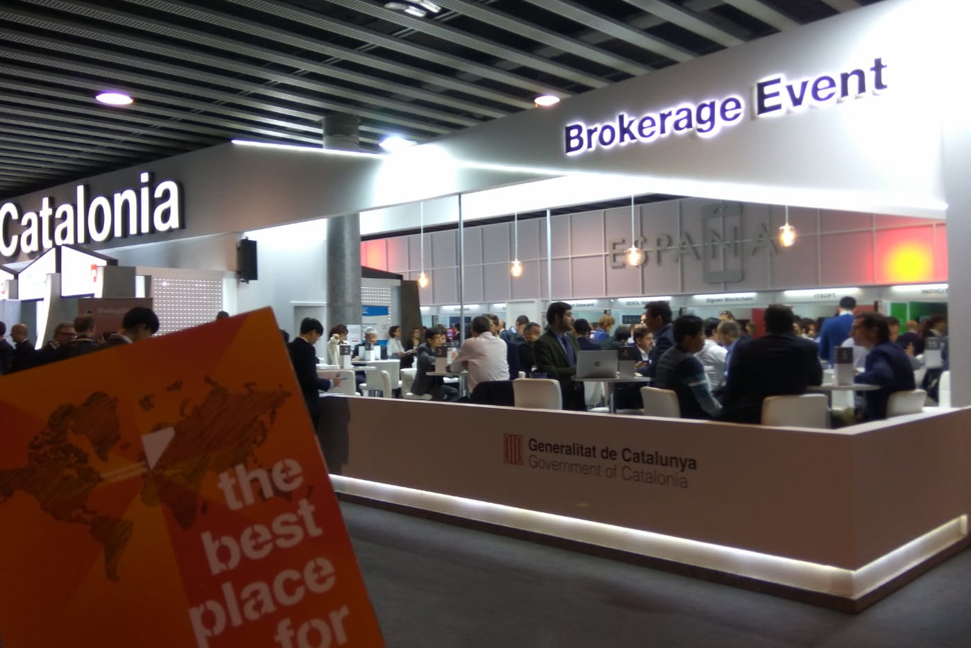 Brokerage Event Invest Center Bcn
